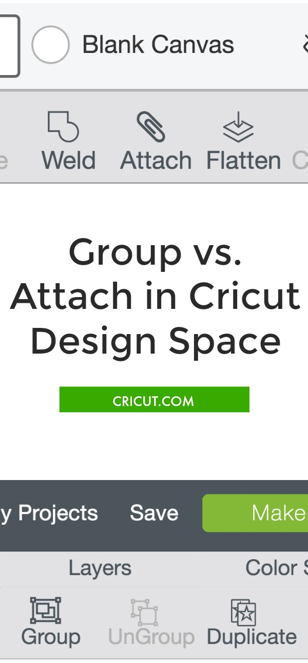 Design Space Group vs. Attach
