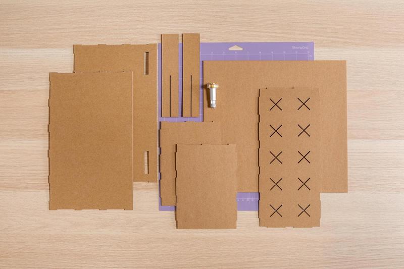 DIY vinyl organizer, iron-on organizer