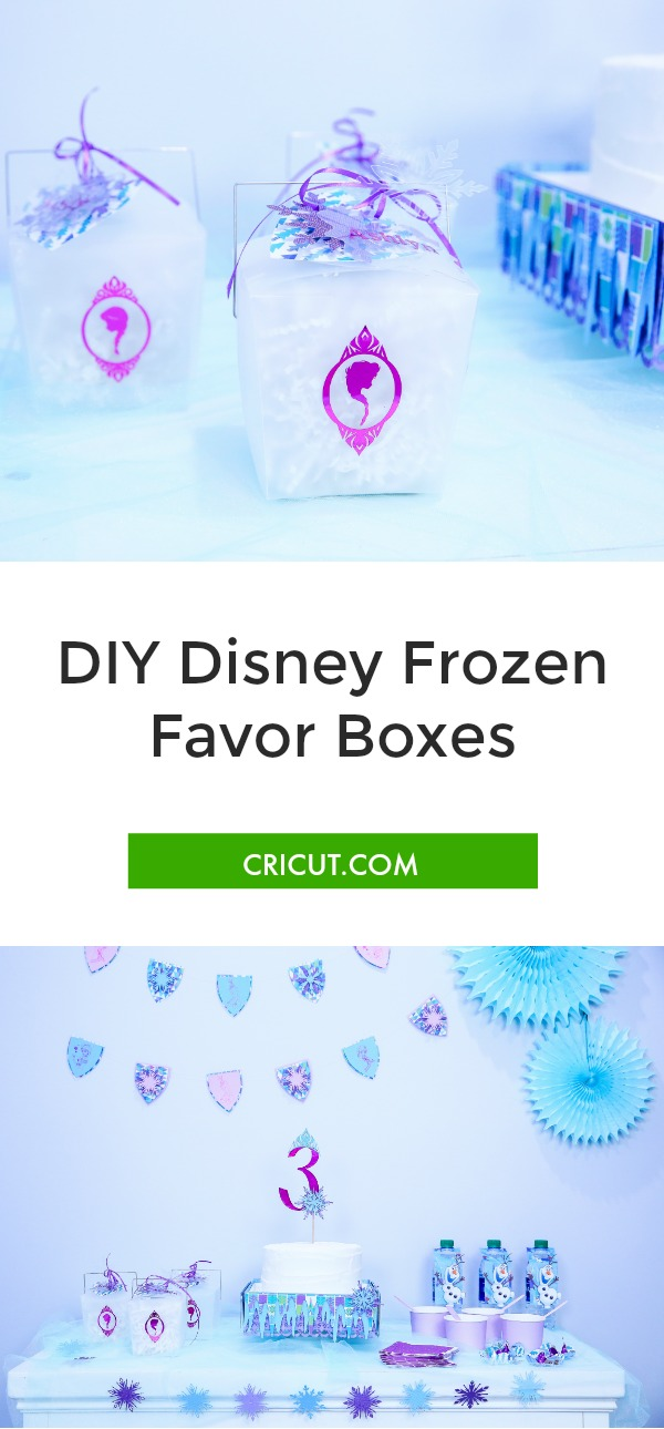 Disney Frozen party, Disney Frozen favor box, Disney party, Disney favor box