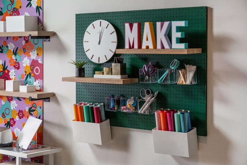 Craft Room Organization Ideas