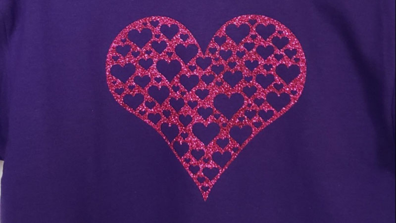 Cricut Community Favorites: DIY Valentine's Day shirts
