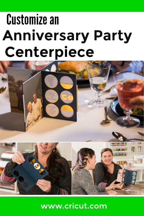 DIY Anniversary Party Centerpiece Game