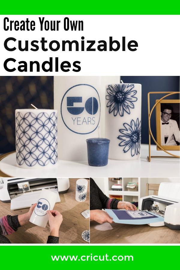 DIY Customizable Candles