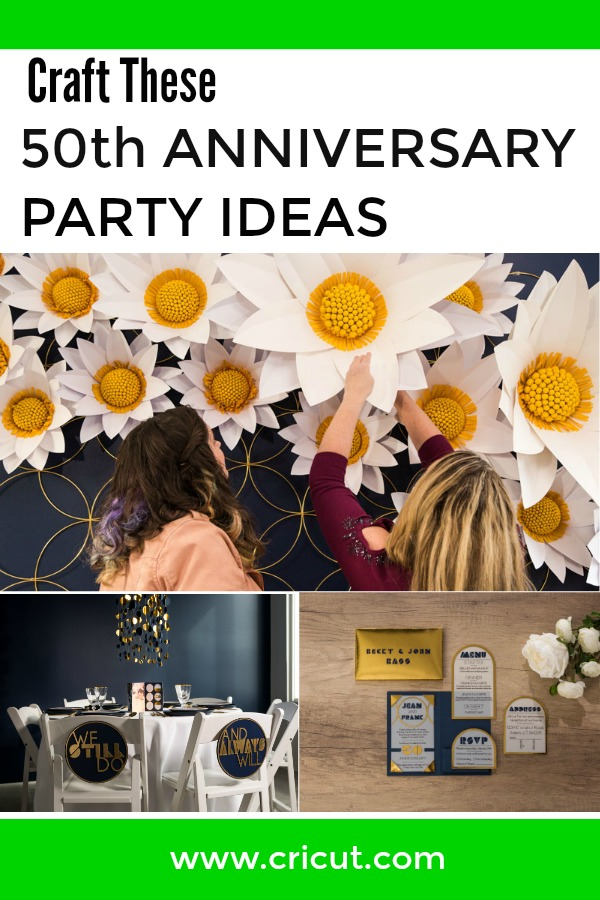 DIY 50th Anniversary Party Ideas