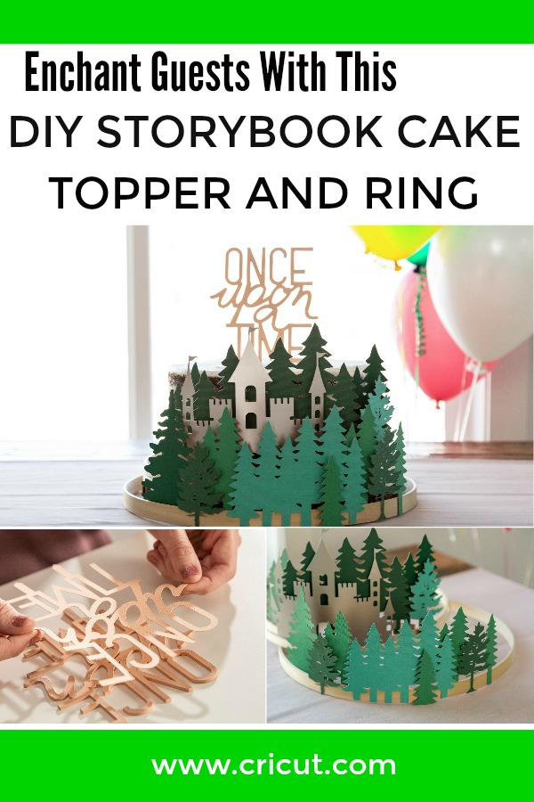 Cake Topper and Storybook Forest Cake Ring