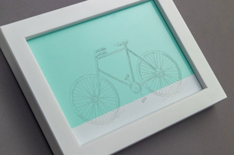 Engraved Bike Project Using the Cricut Maker Engraving Tip
