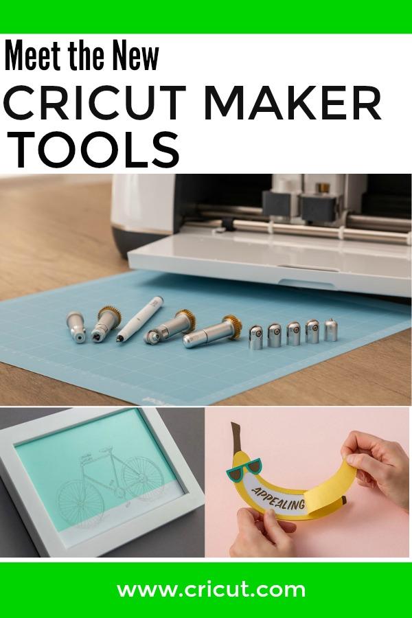 Four New Cricut Maker Tools