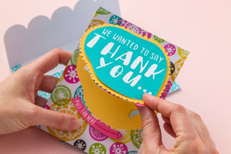 Thank You Cards with the Perforation Blade for Cricut Maker