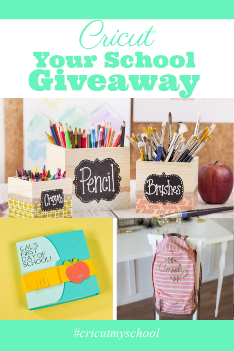 Cricut Your School Giveaway