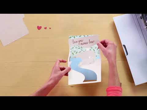 Embedded thumbnail for How to Create a Pop-Up Card - Assembling the Card