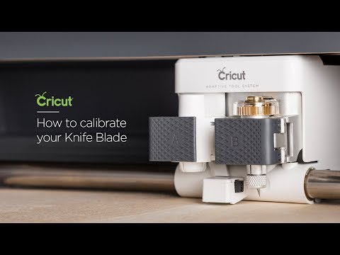 Embedded thumbnail for Cricut Maker: How to calibrate your Knife Blade