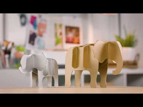 Embedded thumbnail for How to Create a Chipboard Elephant – Selecting a Design