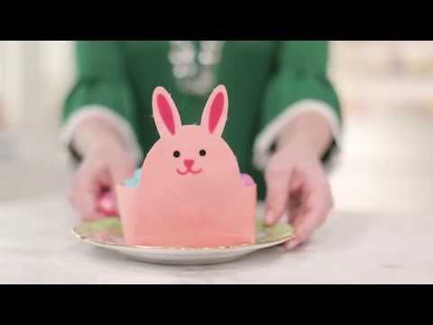 Embedded thumbnail for Felt Bunny Basket