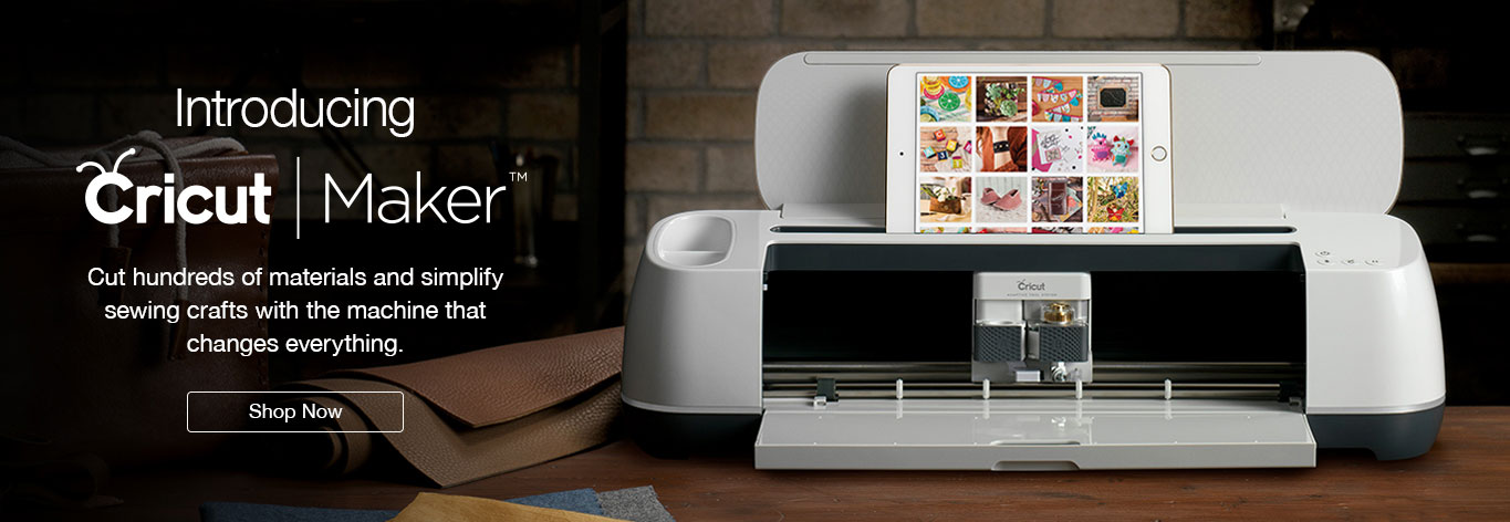Introducing Cricut Maker. Cut hundreds of materials and simplify sewing crafts with the revolutionary machine that changes everything. Shop Now!