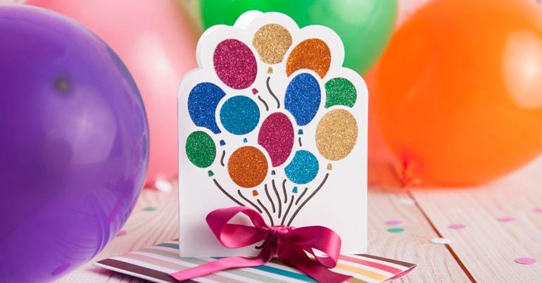 Balloon Card