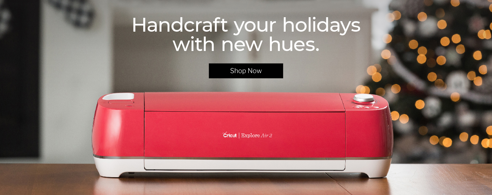 Handcraft your holidays with new hues.