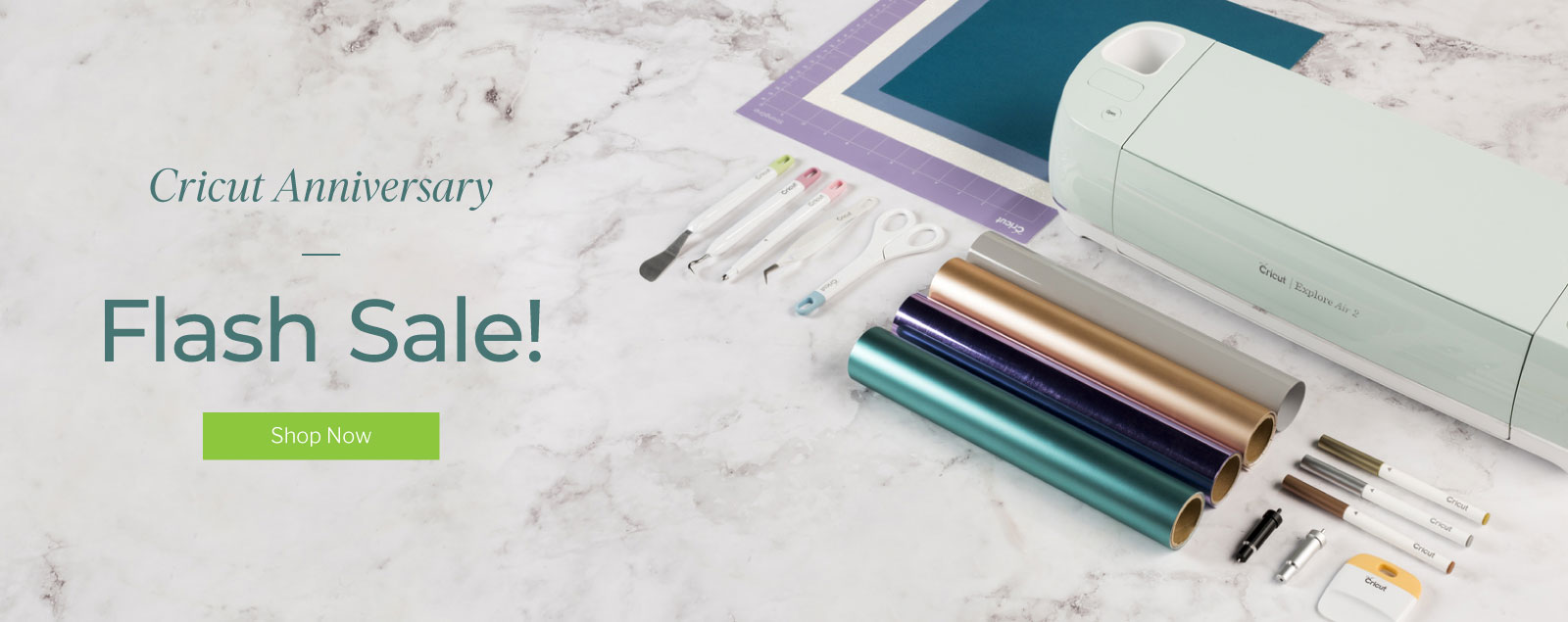 Cricut Anniversary - Flash Sale!