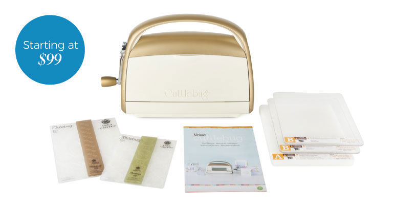 Cricut Cuttlebug Bundle