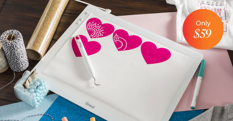 Cricut BrightPad only $59